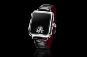 A Swiss-made 'Apple Watch' without a screen… or hands.