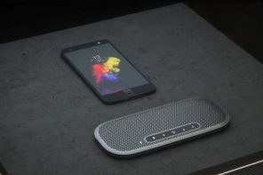 Lenovo's ultraportable speaker is as slim and small as your phone