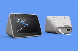 Lenovo's smart speaker also doubles as your bedside alarm clock