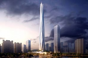 China's tallest building is an organic-inspired 700-meter wonder