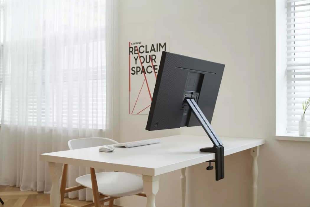 Samsung S Latest Space Saving Design Driven Monitors Are