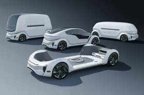 Tesla's interchangeable travel-pod system shows modularity in transportation