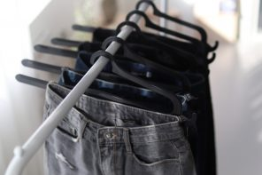 The Hurdle Hanger Can Organize your Clothes in Seconds