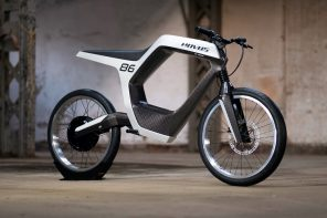 The Novus Electric Motorbike redefines the term 'sleek'
