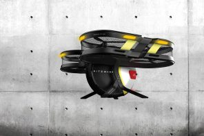 The SiteWasp drone basically replaces the Supervisor at a construction site