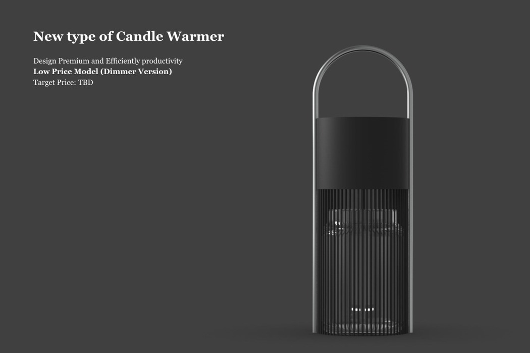 A Candle Warmer That S Housed Within A Beautiful Design Yanko Design