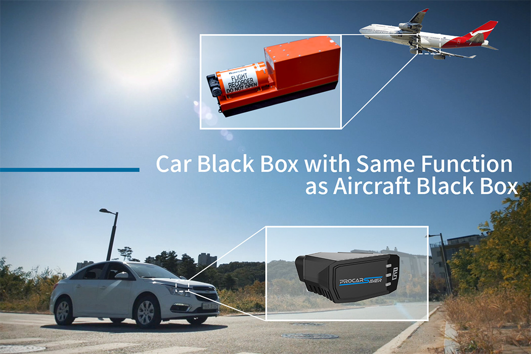 The ProCarSaver is your car's very own black-box