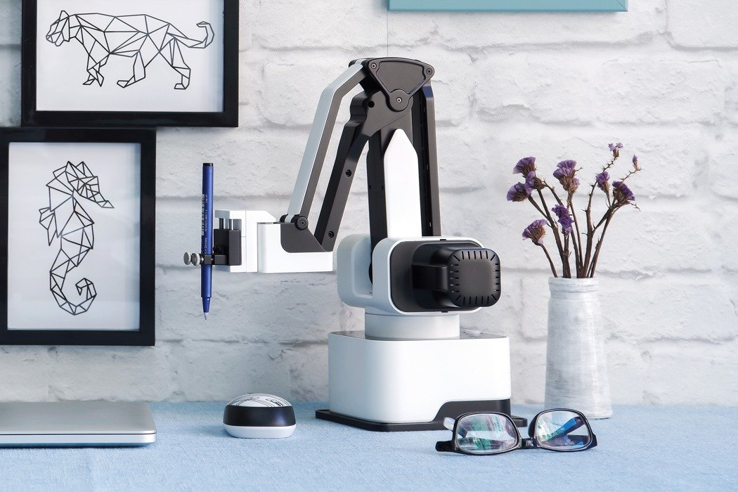 Your very own robot arm for laser engraving, 3D printing and more