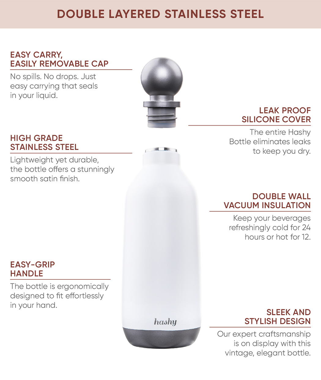 The Hashy bottle deserves to be in a contemporary art museum