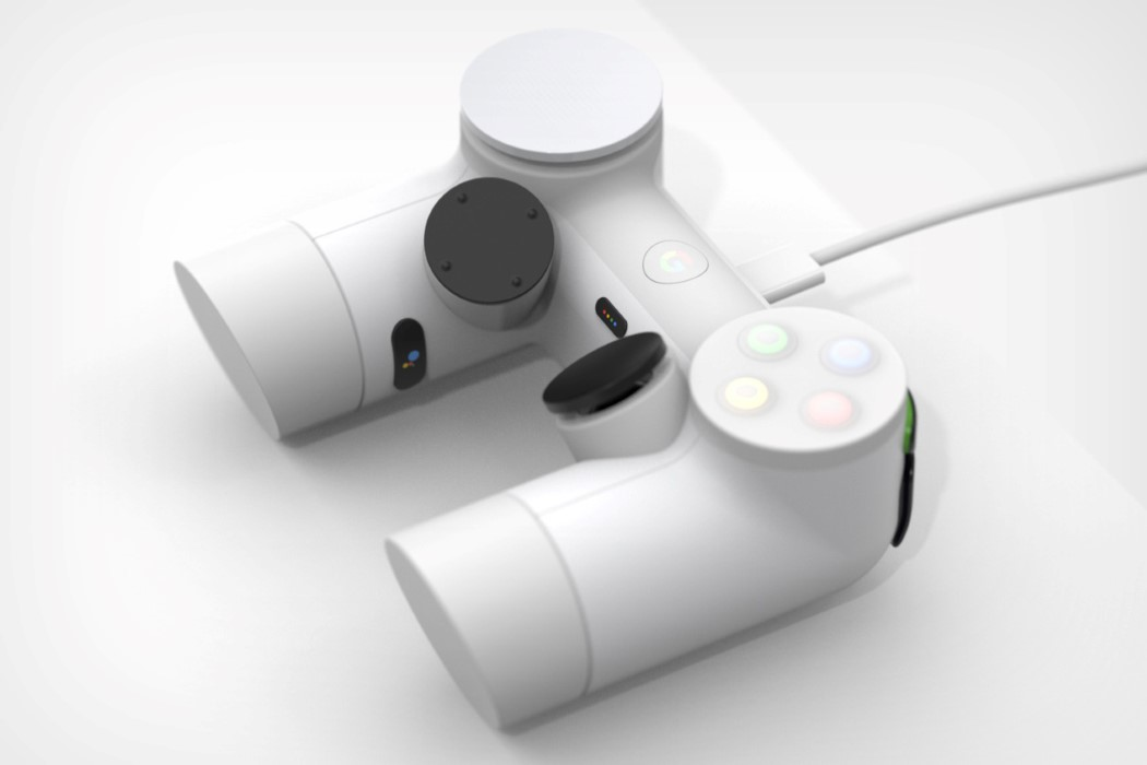 Google's Stadia Controller gets a radical redesign!