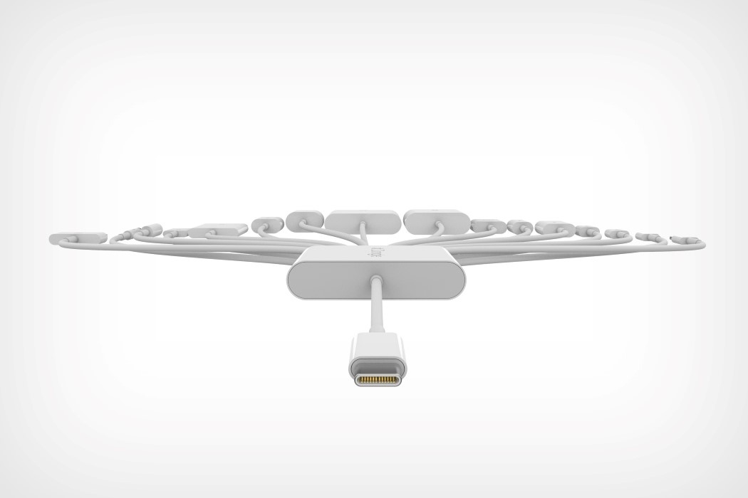 Apple's latest dongle is its most multi-functional one yet. Built with 16 different functions.