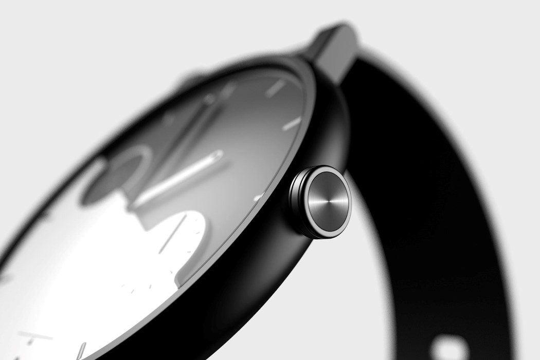 The Balance Watch bases itself off the duality of Yin and Yang