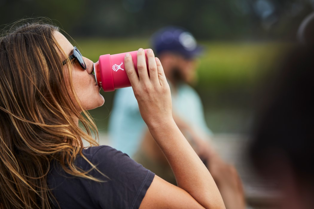 Insulated sleeve to keep your beverages chilled - Hydro Flask Cooler Cup