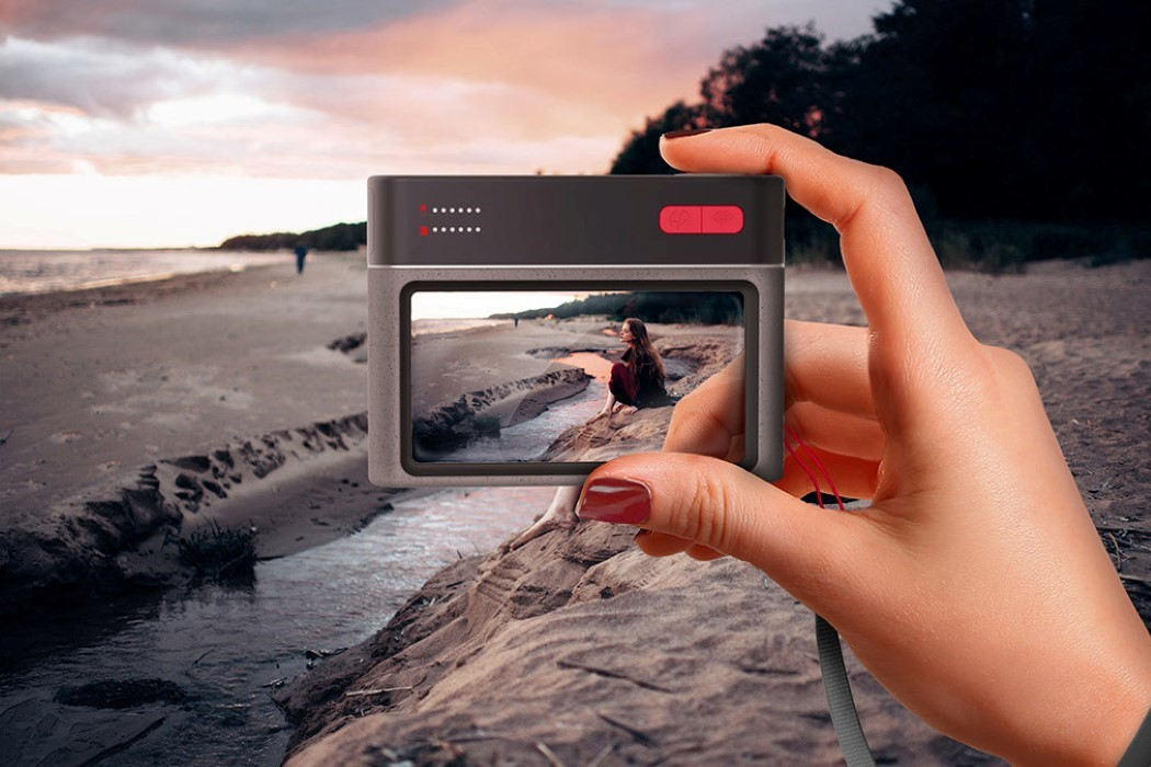 What if you replaced the screen on a camera with a massive glass viewfinder?