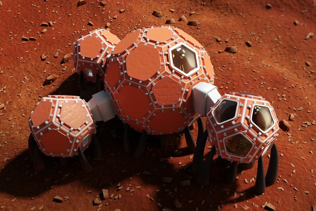 NASA Mars 3D Habitat Challenge Finalists