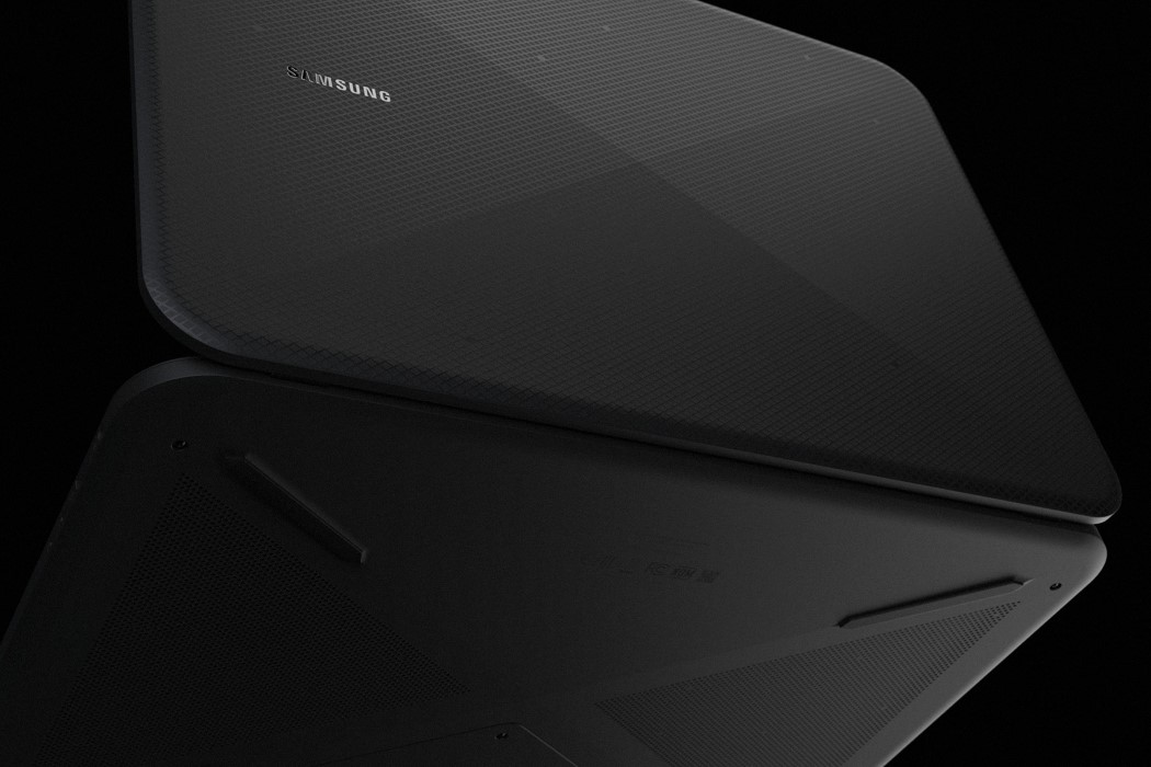The Escape is a conceptual gaming laptop from Samsung by Mitul Lad