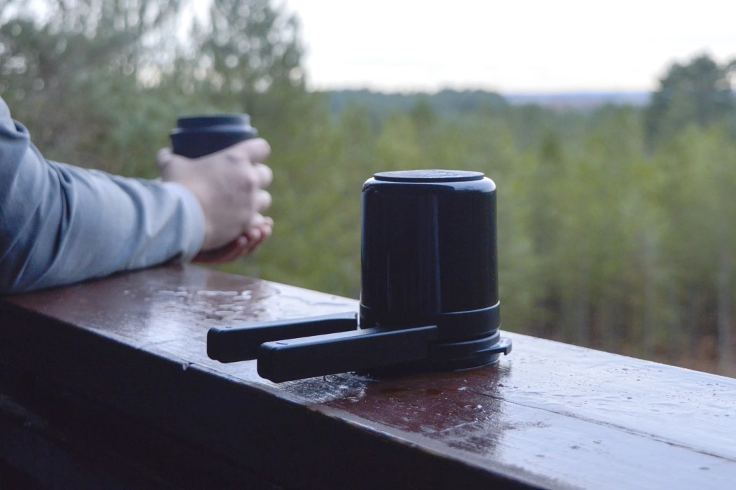 The Twist Press brings joy to the process of coffee-brewing