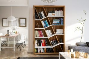 Bookshelf designs as unique as you are