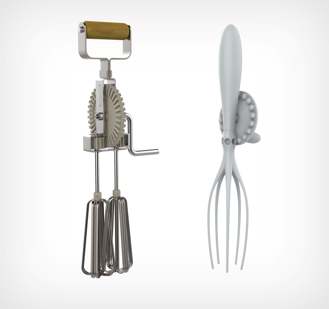 The Invader Whisk looks like aliens redesigned our kitchen tools