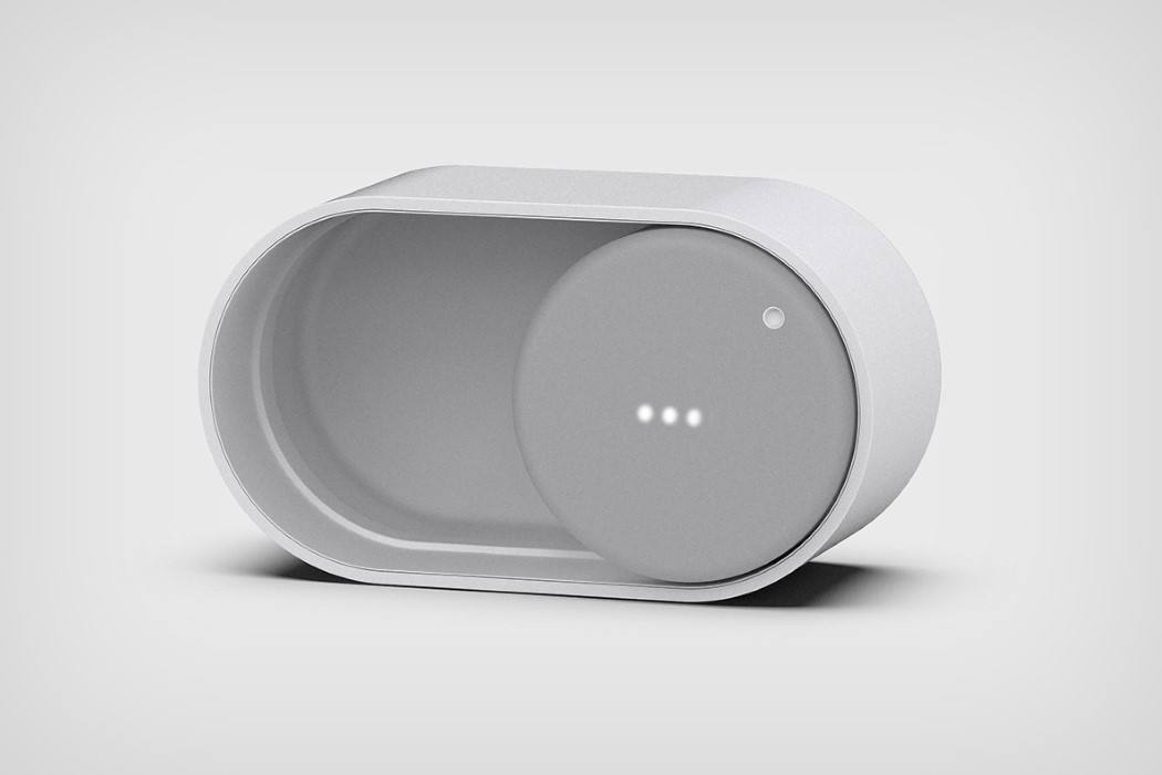 The ONOFF speaker turns a ubiquitous digital interaction into a physical product