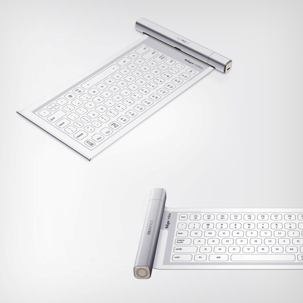 Royole's rollable keyboard design is even more flexible than its tablet!