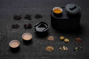The Mini Tea Set is a combination of culture and compact design