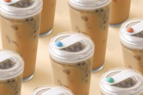 This non-straw glass gets you the last of your bubble tea