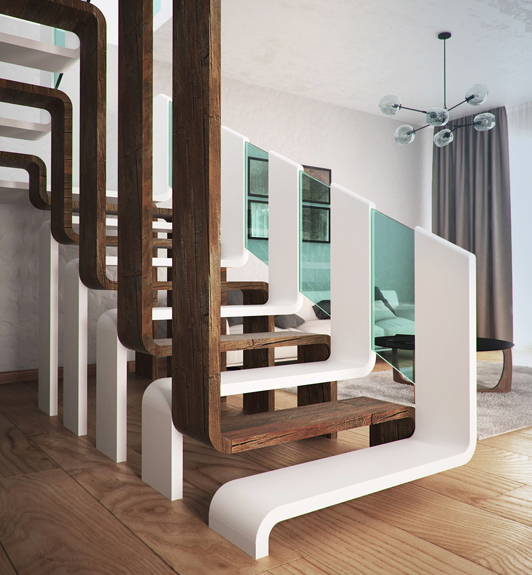 Staircase Designs That Will Uplift Any Space Part 2 Yanko Design