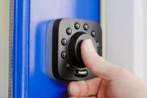 This smart deadbolt gives you true keyless & phoneless entry