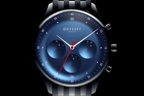 The Odyssey Watch's vanishing chronograph dials showcase the passage of time in a space-inspired theme