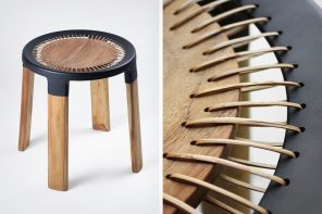 The Ciro stool was designed to support industries as well as local craftsmen