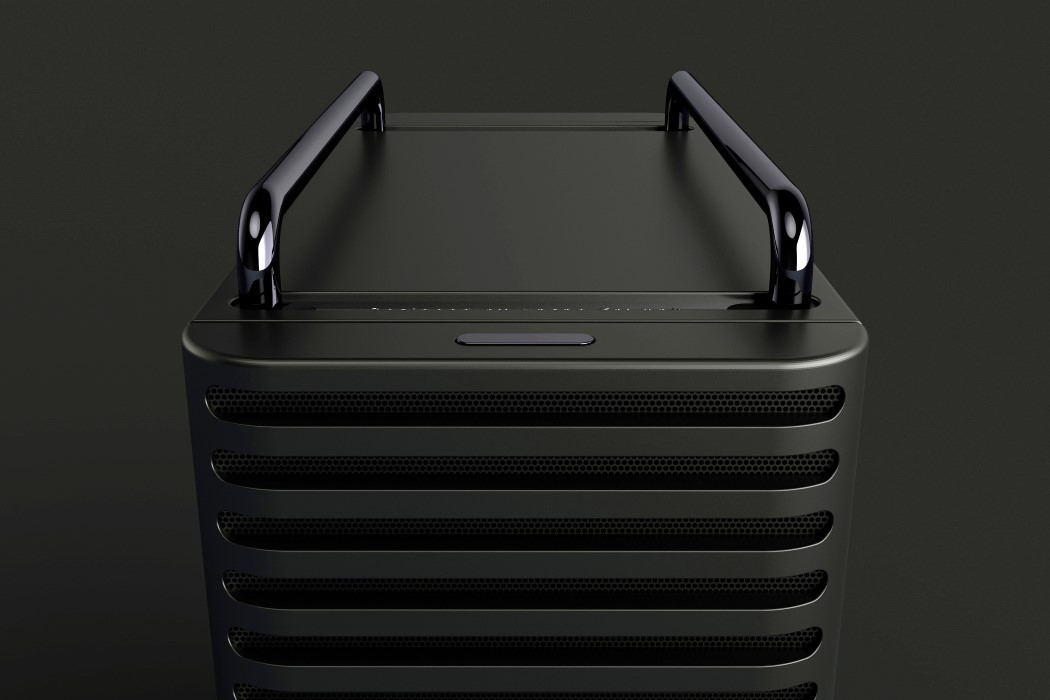 One designer went and redesigned the cheese-grater Mac Pro