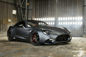 Puritalia Berlinetta's charmingly curvaceous body is all hand-crafted carbon-fiber