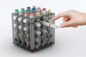 Showcase your markers in a compact design that keeps you organized