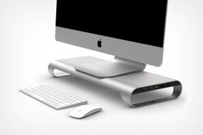 Here's an iMac stand that's well worth its price tag!