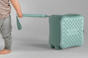 A suitcase designed to help your toddler one step at a time