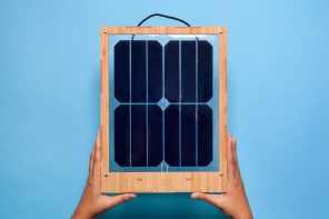 The Window Solar Charger helps you charge your gadgets with sunshine!