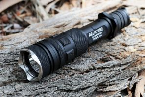 This tactical-style flashlight with a built-in powerbank will get you through rough times