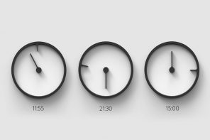 Clock designs that challenge the traditional time-displaying methods
