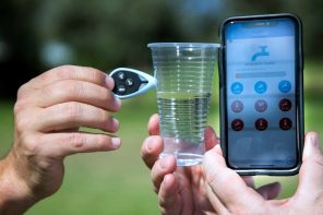 How clean is your drinking water? This tiny gadget can tell you in seconds.