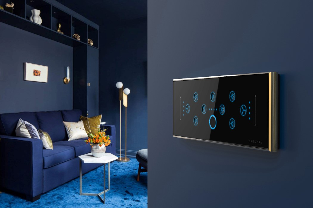 Switchboards For The Rich These High End Switches Come With Fingerprint Sensors Yanko Design