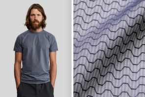 VolleBak's anti-abrasion tee shirt is made from real carbon fiber