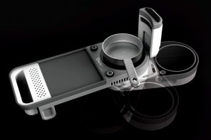 Split Induction Cooking Top integrates chopping board and other utilities