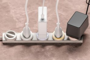 A smartphone controlled power strip to power individual sockets for those lazy days