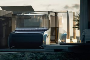 Expandable camper makes more room when you fit it into the home plan