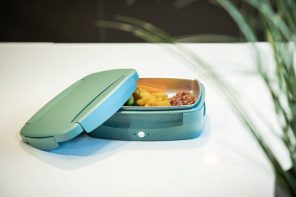 Meet Steasy, the smart lunchbox that heats your food up with steam