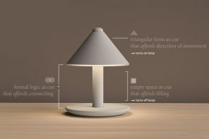 A lamp that carries a beautiful narrative!