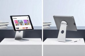 The Pivot Stand turns your iPad into an iMac!