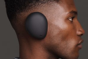 The world's first truly wireless over-ear headphones look weirder than the Airpods did in 2016