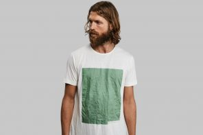 Vollebak's new 100% biodegradable T-Shirt is made from plants and algae!